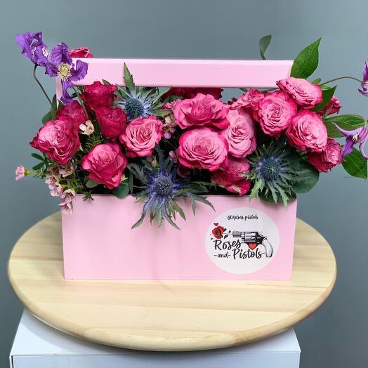 Розовый тортик 🍰