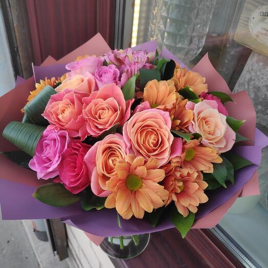 Букет цветов Иланг Иланг