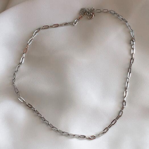 Цепочка Rolo medium silver