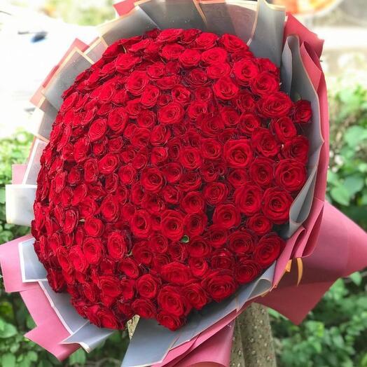 Букет из 201 Розы ️