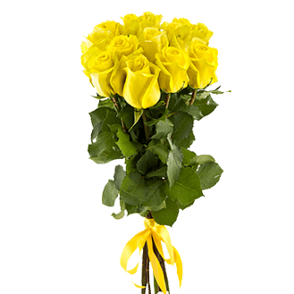 Букет из 7 желтых роз 50 см: букеты цветов на заказ Flowwow