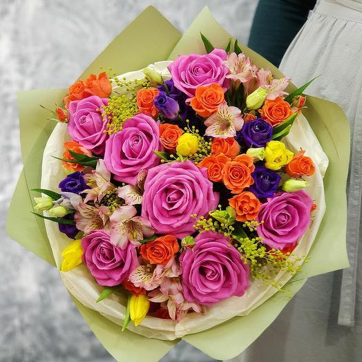 Заказ цветов в Москве